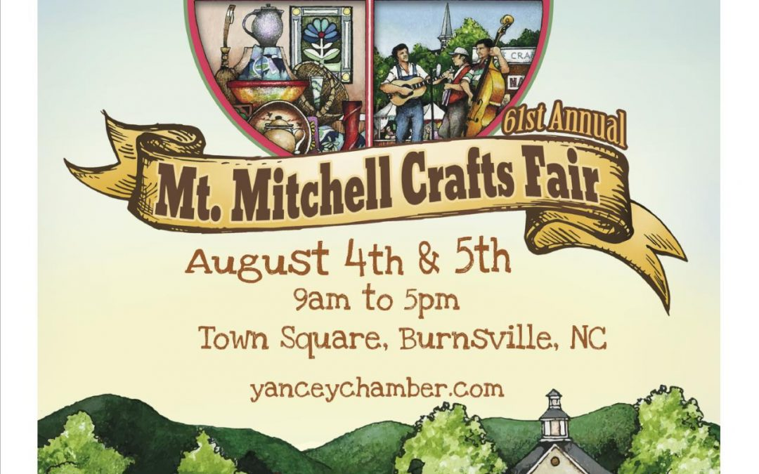 Mt. Mitchell Crafts Fair