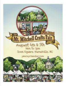 Mt. Mitchell Crafts Fair @ Burnsville Town Square | Burnsville | North Carolina | United States