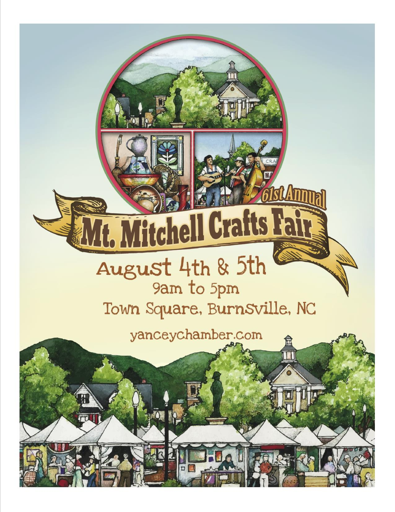 Mt mitchell crafts fair nc blue ridge for Craft shows in nc 2017
