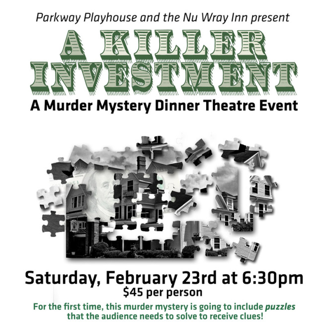 A Killer Investment: Murder Mystery Dinner