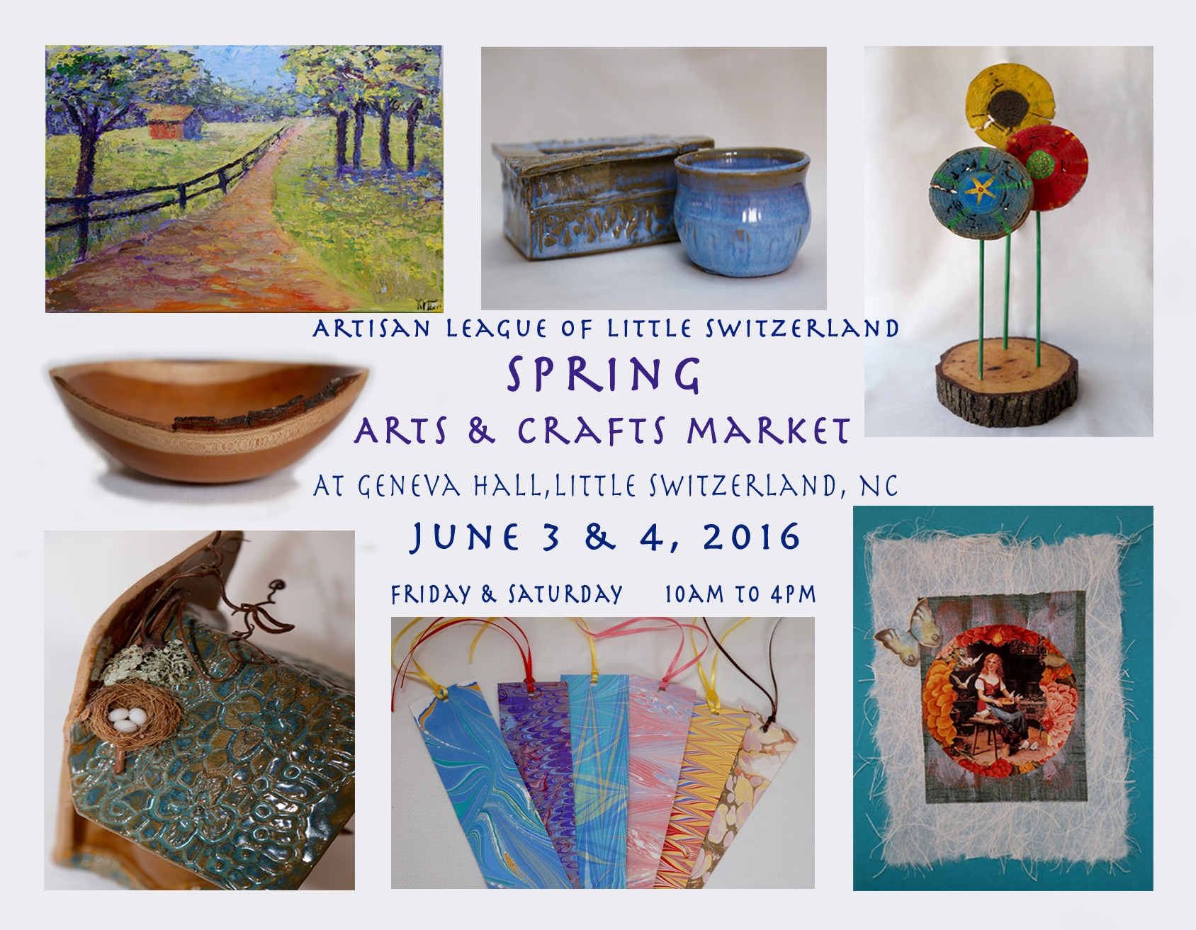 Spring arts crafts market nc blue ridge for Arts and crafts industry