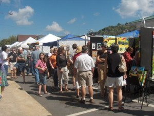Art in Autumn 2016 @ Main Street, Weaverville, NC | Weaverville | North Carolina | United States