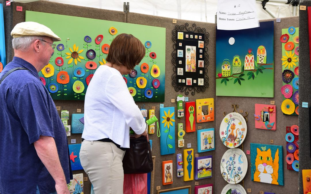 Summer 2019 Arts Festivals in the Blue Ridge Mountains