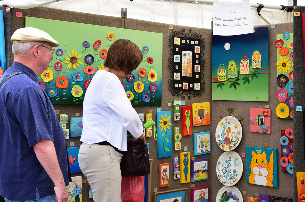 Art on the Greene presents fine arts and master crafts in Banner Elk, July 7-8 & Sept. 1-2