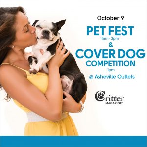 Pet Fest & Cover Dog Competition - at Asheville Outlets @ Asheville Outlet Mall | Asheville | North Carolina | United States