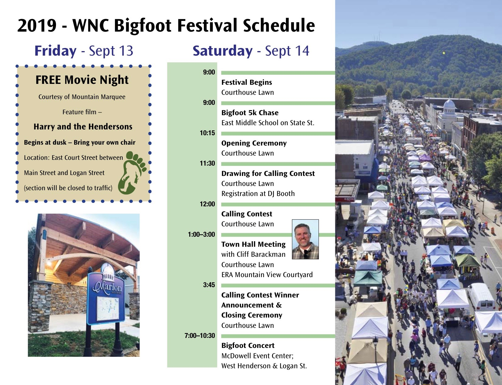 2nd Annual WNC Bigfoot Festival