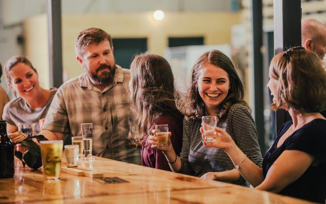Bold Rock Hard Cider tasting room