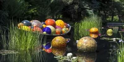 "It's the ""Summer of Glass"" at Biltmore and throughout the Blue Ridge Mountains!"
