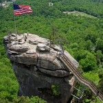 Chimney Rock State Park Near Rutherfordton in the NC Blue Ridge Mountains.