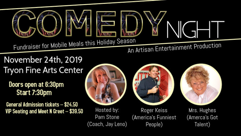 Comedy Night at Tryon Fine Arts Center
