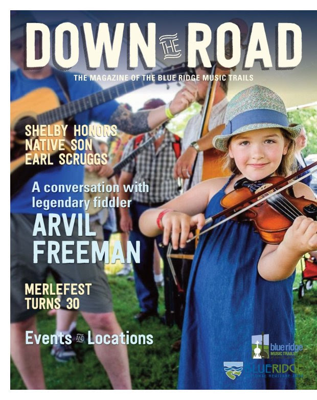 """Down the Road"" Magazine now available throughout the NC Blue Ridge and WNC"