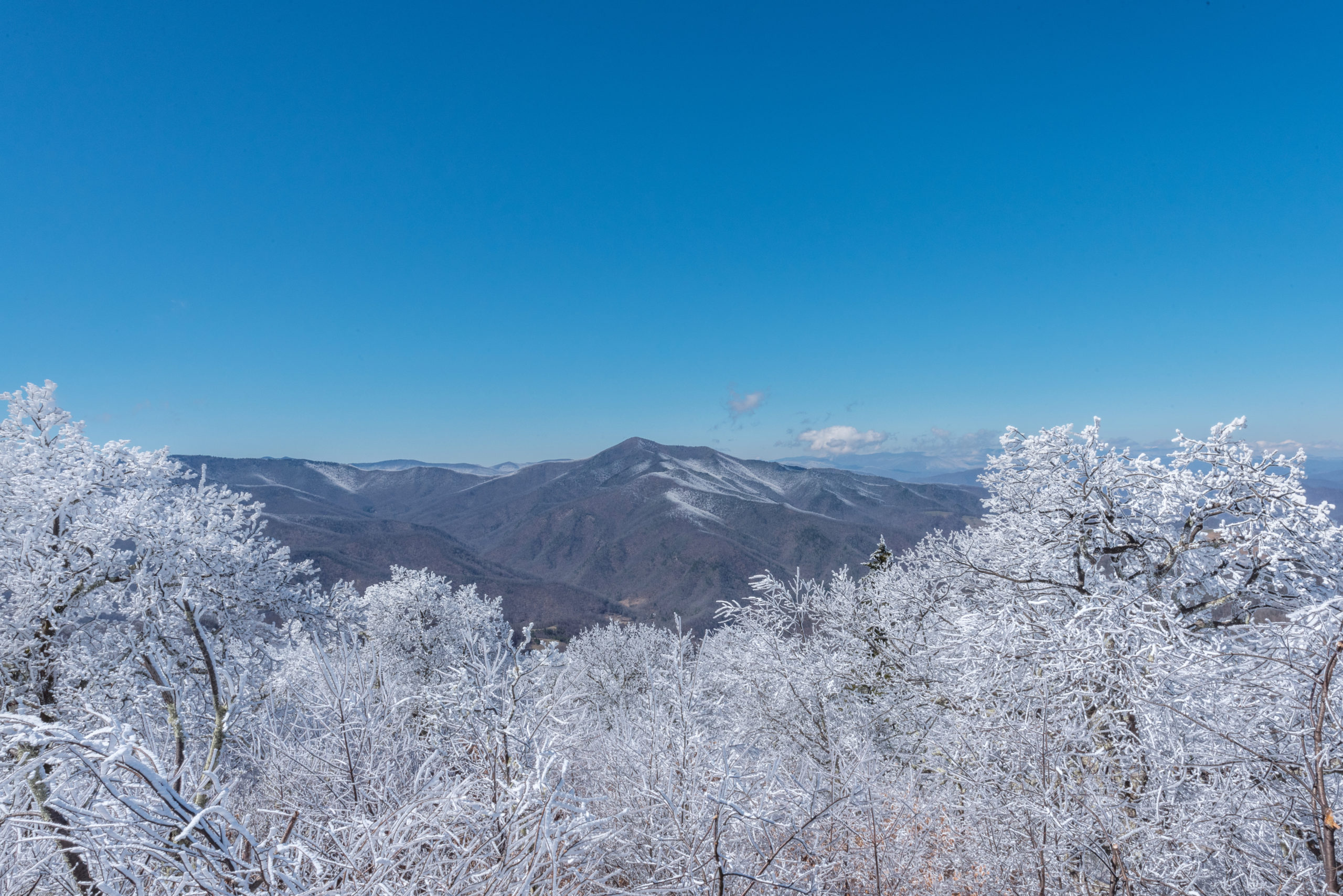 Winter Adventures in the Blue Ridge Mountains