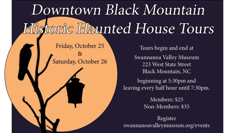 Historic Haunted House Tours of Downtown Black Mountain