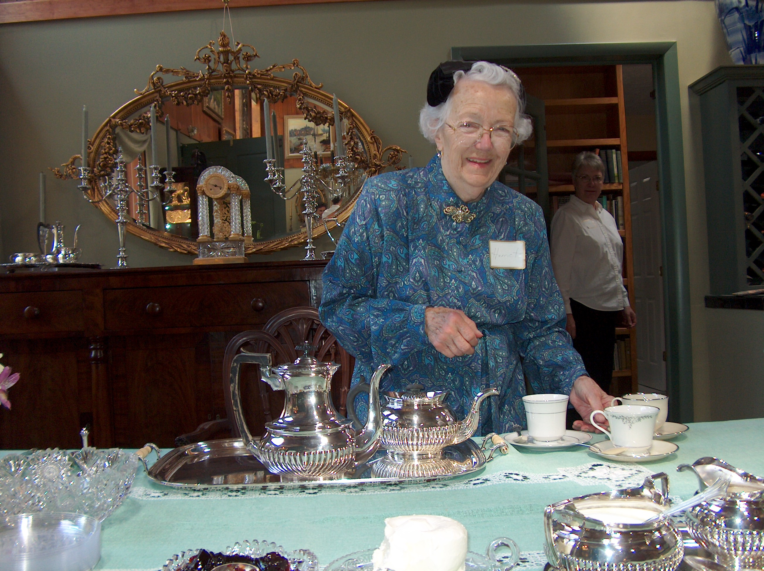 Appalachian Spring Tea with Harriet