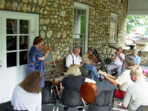 Informal Jam on the Porch @ Mountain Gateway Musuem | Old Fort | North Carolina | United States