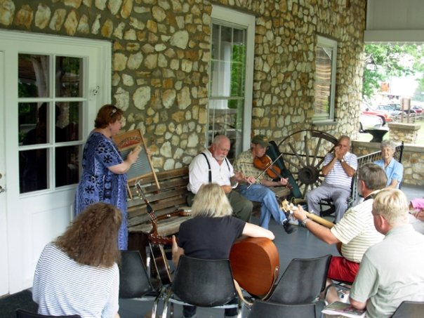 Informal Jam on the Porch