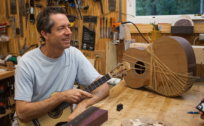 Jay Lichty_Mountain Acoustics Luthier Invitational