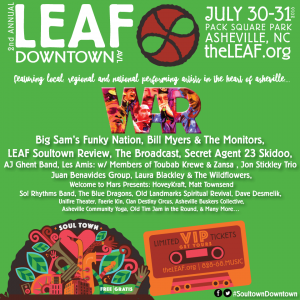 2nd Annual LEAF Downtown! @ Pack Square Park | Asheville | North Carolina | United States