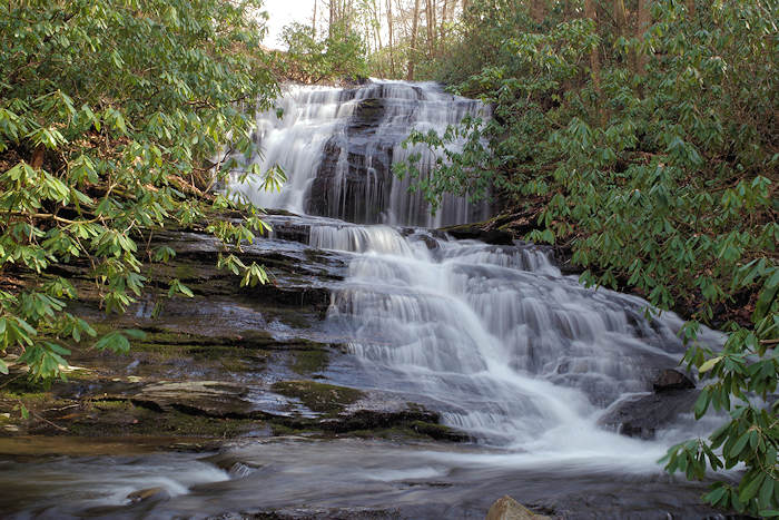 Merry Falls, near DuPont State Forest