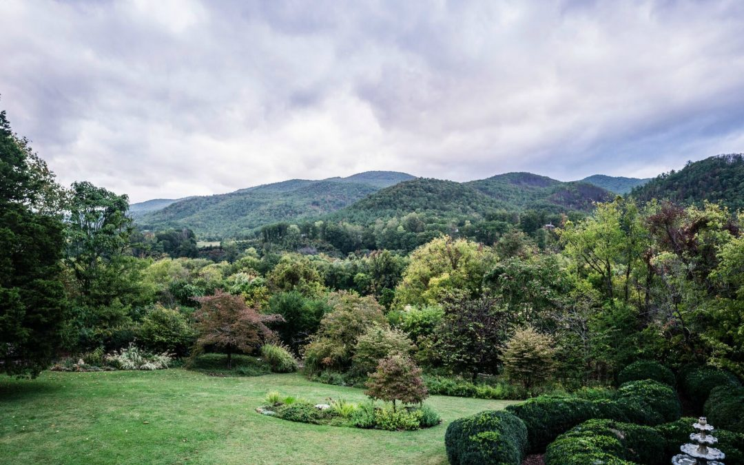 Scenery surrounding Mountain Magnolia Inn