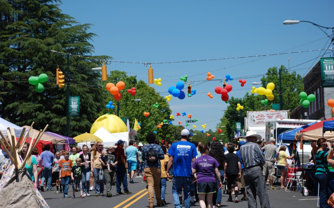Rutherfordton, N.C. Kicks Off Spring with Three-Day Celebration this May 5-7