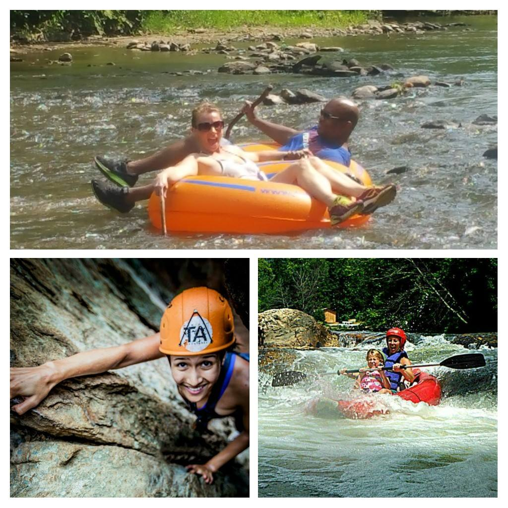 Thrifty Adventures -Buy One- Get One Free Special on Whitewater Kayaking, Rock Climbing and Rappelling