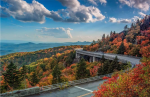 The Lynne Cove Viaduct with fall color
