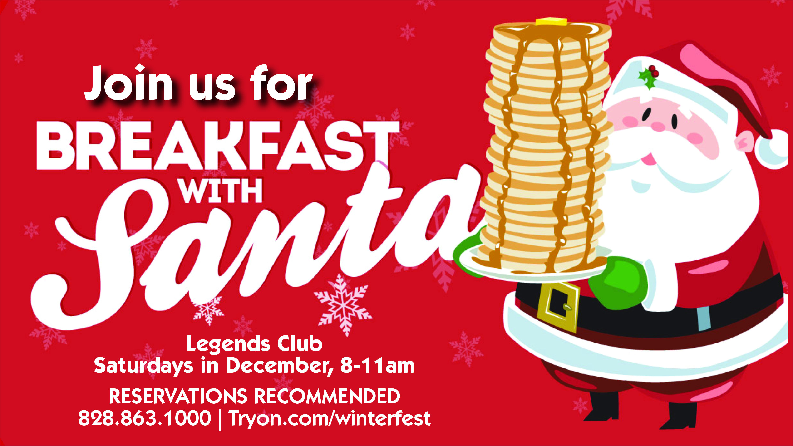 Breakfast with Santa at TIEC