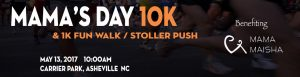 Mama's Day 10K & 1K Stroller Push @ Carrier Park | Asheville | North Carolina | United States