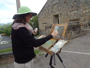 11th Annual Plein Air Paint Out @ Burnsville TRAC Gallery | Burnsville | North Carolina | United States